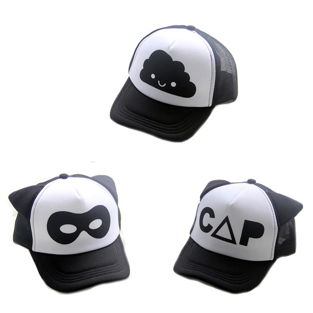 d68875ecaa8 kids hats letter print fashion cartoon boys girls snapback cap 2017 new  brand summer children baseball caps cute toddler sun hat