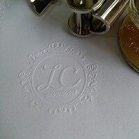 Design Your Own Wedding Embosser Stamp Custom Embosser Seal For Personalized Wedding Seal