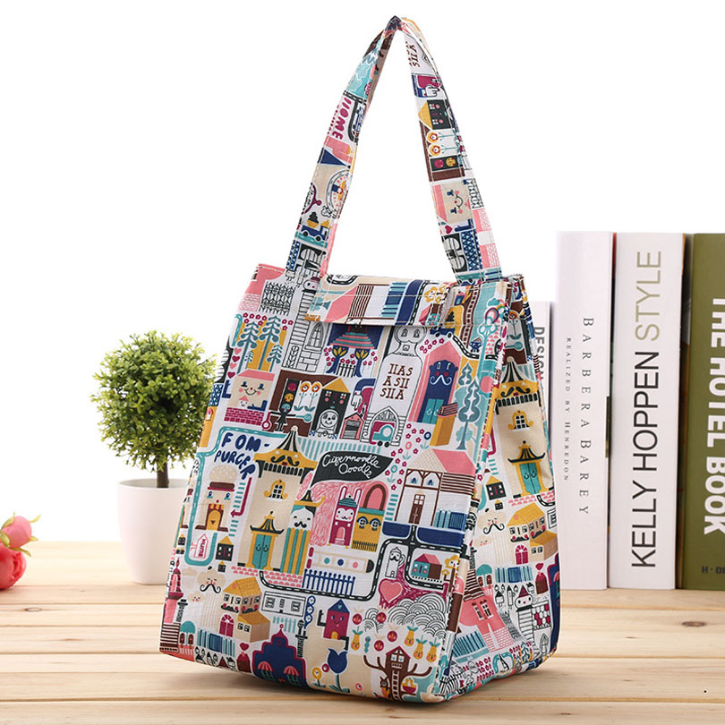 Good Quality Travel Or Office Food Cooler Bags Men And Women Thermal Insulation Covers Thermal Oxford Lunch Bag Leisure Tote