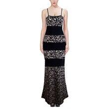 Frauen Lange Verbandkleid, Figurbetontes Kleid Bodenlangen Neueste Cocktail Party Kleid 2285 XS S M L
