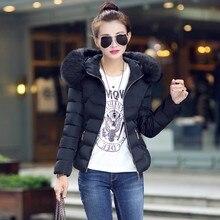 Parkas Woman Winter Light Down Jacket with Fur Hood Duck Down Female Long Coat Ladies Clothing 2018 Ukraine