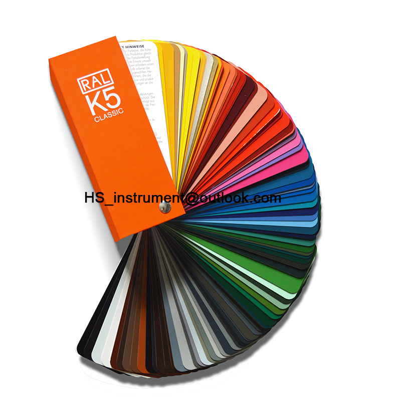 Germany RAL-K5 Raul color card RAL K5paint paint color card ral k7 paint color page chip card brochure