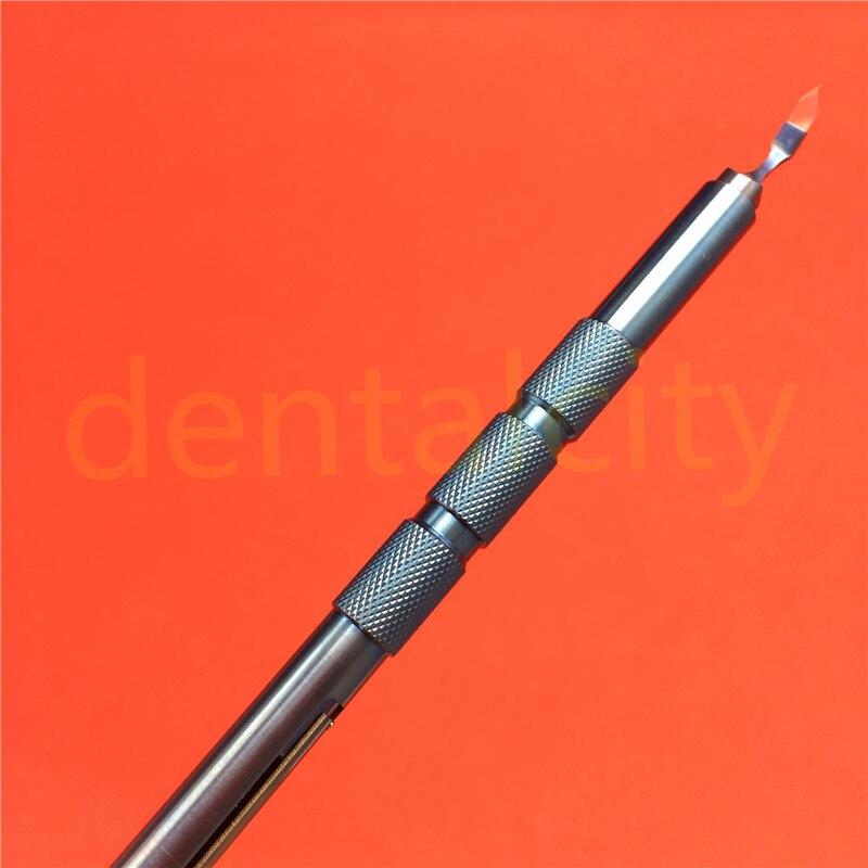 Güzellik ve Sağlık'ten Yüz Cilt Bakımı Araçları'de Oftalmik cerrahi Çeşitli modeller Safir bıçakları Keratom Opttalmik göz cerrahi enstrüman 1 adet'da  Grup 1