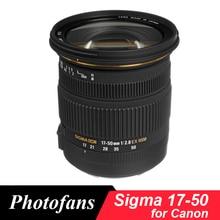 Sigma 17-50 Sigma 17-50 мм f/2,8 EX DC OS HSM зум-объектив для Canon 1300D 700D 750D 760D 70D 60D 80D 7D T6 T6s T5 T5i