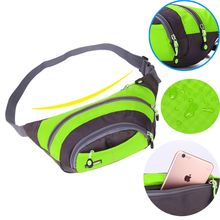 Women Men Waist Bag Waterproof Fit Package Bag Pouch Money Belt Waist Fashion Women Men Pack