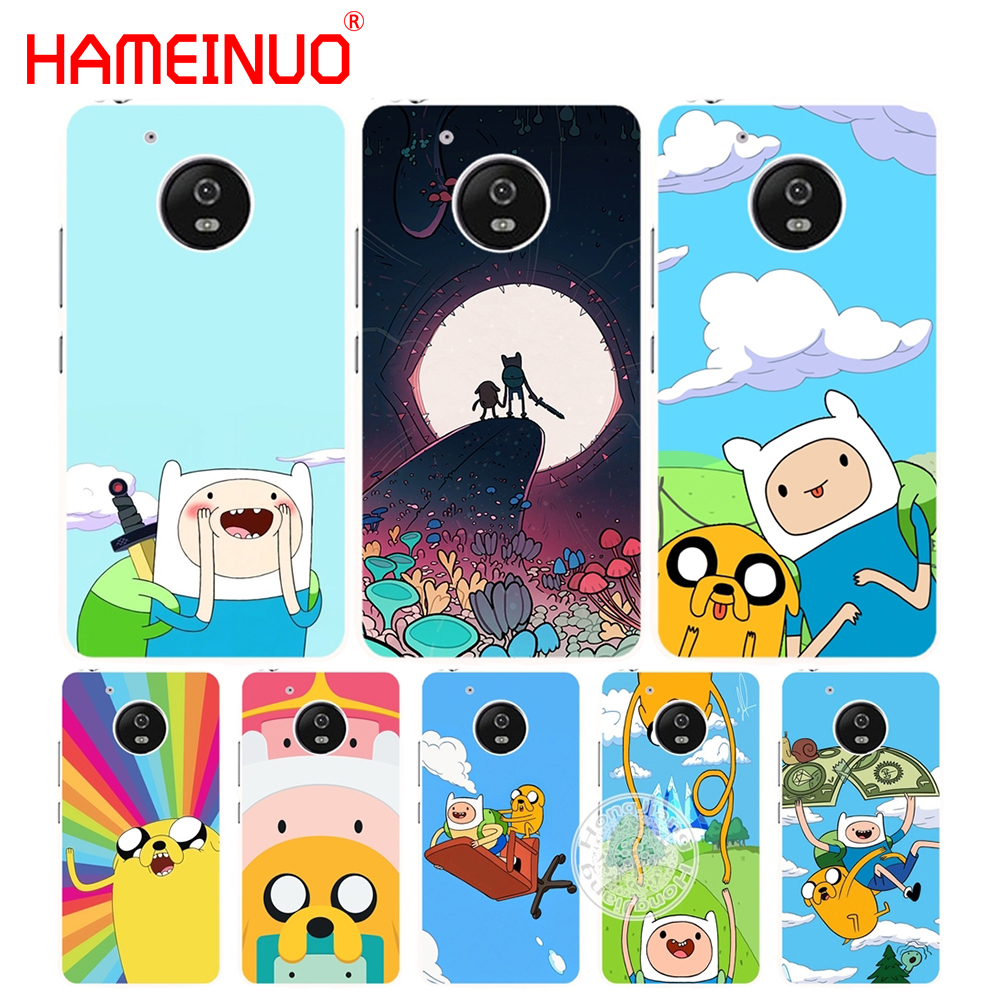 HAMEINUO Adventure Time with Jake and Finn bmo case cover for Motorola moto G6 G5 G5S G4 PLAY PLUS ZUK Z2