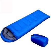 180 30 75cm Outdoor Brand Envelope Sleeping Bag Camping Travel Hiking Ultra Light 800g Sleeping