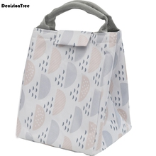 2019 New Insulation Lunch Bag Cold Keep Waterproof Transparent Fruit Juice Luxury Brand Women Kids Men Cooler Box 8