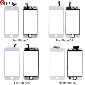 Image 2 - מגע Digitizer מסך + מסגרת עבור iPhone 6 6S 6P 5S 5C 5G 7G 7P בתוספת מסך מגע קדמי לוח מגע זכוכית עדשת טלפון אבזרים
