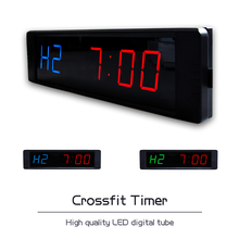 [Ganxin] 1″ Hot Selling cheap Led Crossfit Countdown Timer garage timer with remote control