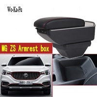 For MG ZS Armrest box central Store content box cup holder ashtray interior 2017 2018