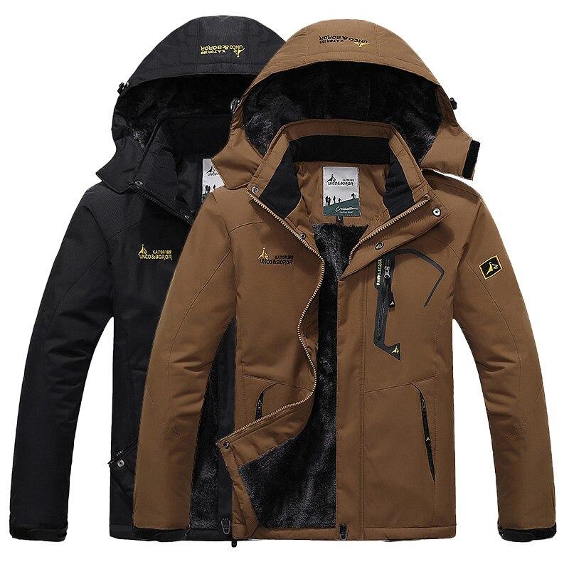 Hommes hiver imperméable randonnée veste Softshell coupe-vent pluie polaire plein air Sport chaud manteau Camping Trekking ski vestes