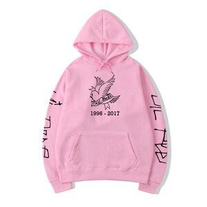 Толстовка с принтом Cry Baby Lil Peep, Повседневный пуловер для женщин, Модный свитшот в стиле Харадзюку для мужчин и женщин, толстовка в стиле хип-х...