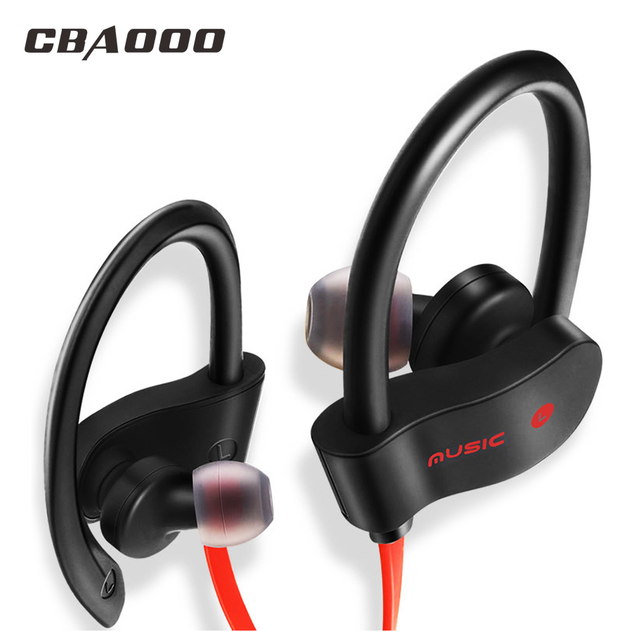 CBAOOO bluetooth headphone wireless bluetooth earphone sport headset waterproof bass with mic for xiaomi iPhone ekind head mounted wireless headphone bluetooth headset earphone with mic support tf card radio for phone iphone xiaomi pc tv