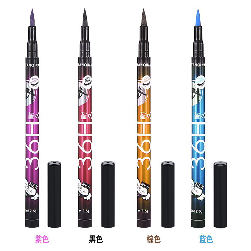 1 PCS Hot Make Up Ultimate Black Liquid Eyeliner Long-lasting Waterproof Eye Liner Pencil Pen Nice Makeup Cosmetic Beauty Tools 4