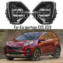 起亜の sportage 2019 2020 led ヘッドライト drl 起亜 KX5 2019 2020 led フォグランプヘッドライトカバーフォグライトフォグライトフォグランプ