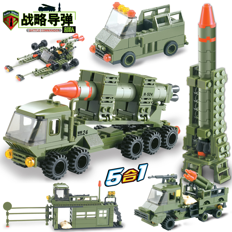 Model Building 265pcs Swat Team City Police Military World War 2 Tank Truck Building Blocks Bricks Toys For Children Compatible With Lego Blocks