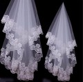New Fashion Arrival Cheap Wedding Veils Three-Layers With Lace Edge Bridal Veil Wedding Accessories White Color