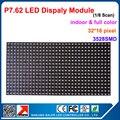 SMD Full color P7.62 LEVOU módulo de tela, 1/8 de Varredura, 244*122mm 32*16 pixels; Indoor P7.62 RGB CONDUZIU o painel de exibição levou módulo de tela