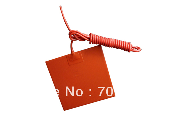 """24v Silicone Rubber Heater Bed 135mm x 135mm (5.5""""x5.5"""")"""