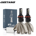 GEETANS 2PCS 60W 9600lm Car Headlights H4 H7 LED H8/H11 HB3/9005 HB4/9006 Auto Front Bulb Automobiles Headlamp Car Lamps