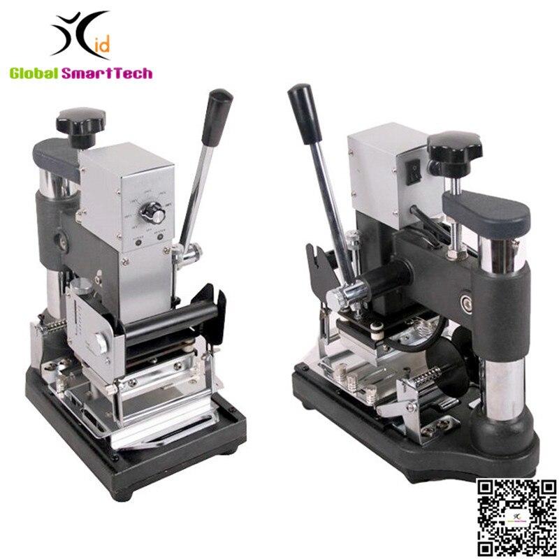 Hot Foil Stamping Bronzing Tipper Machine JX-90A gilding press bronzing hot foil stamping machine