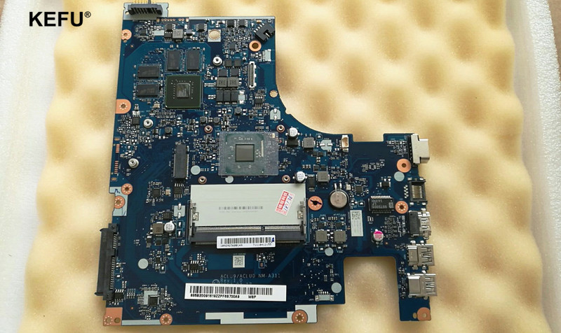 item new!! ACLU9 / ACLU0 NM-A311 MAIN BOARD Fit For Lenovo G50 G50-30 Laptop Motherboard DDR3 N3540 CPU hot in russian g50 30 laptop motherboard fit for lenovo aclu9 aclu0 nm a311 main board ddr3 with processor on board