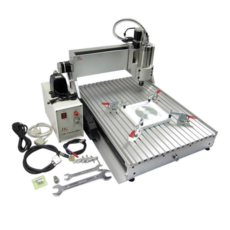 1500 W refroidi à l'eau broche 3D CNC 6040Z machine de gravure mini routeur en bois