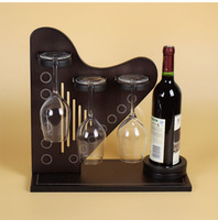 D creative Home Furnishing wine wine frame decor decoration living room TV cabinet wood modern minimalist crafts