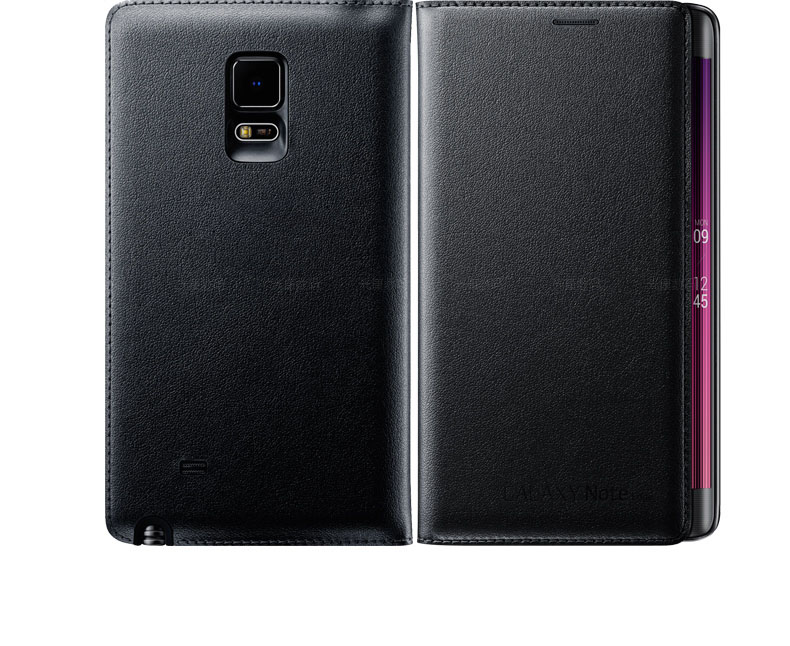 premium selection 2dd21 d5f2f US $8.5 |Original Flip Cover PU Leather Case For Samsung Galaxy Note Edge  N9150 N915-in Flip Cases from Cellphones & Telecommunications on ...