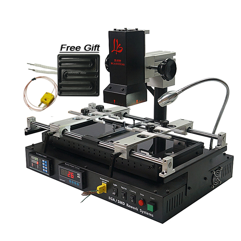 Russia free tax shipping LY IR8500 IR BGA Rework Station reballing machine good function easy use