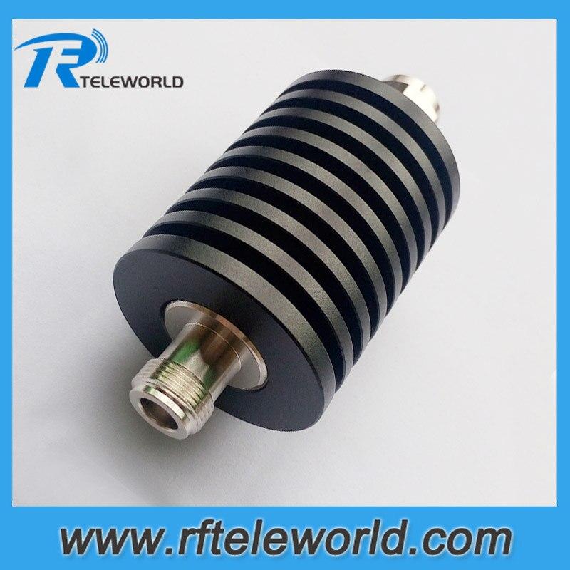 Free Shipping 50ohms 50W 1db/2db/3db/5db/10db/15db/20db/30db/40db/50db Coaxial Attenuator