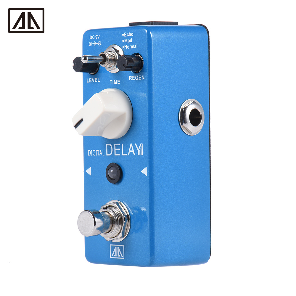 buy aroma ape 5 digital delay guitar effect pedal 3 modes dealy effects. Black Bedroom Furniture Sets. Home Design Ideas