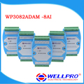 WP3082ADAM ( 8AI ) _ 0-20MA / 4-20MA analog input module / RS485 MODBUS RTU communications