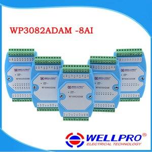 Image 1 - WP3082ADAM (8AI) _ 0 20MA/4 20MA وحدة الإدخال التناظرية/RS485 MODBUS RTU الاتصالات