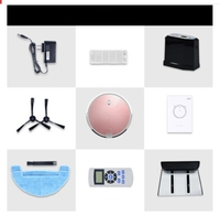 New Open Big Sale Intelligent Fully Automatic Sweeping Robot Househo Robot Vacuum Cleaner With Self Charge
