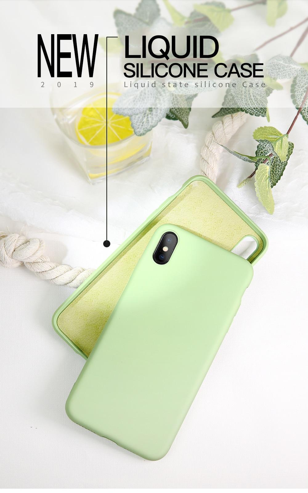 liquid silicone iphone 11 case