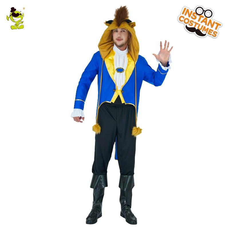 Lepota in zver za moške kostume za zabave za odrasle Igrajte - Karnevalski kostumi