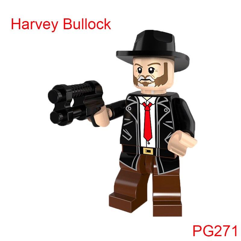 Строительные блоки одной продажи супер героев Звездных Войн Harvey Баллок кирпичи куклы Хобби Pg271 цифры образование игрушки для детей