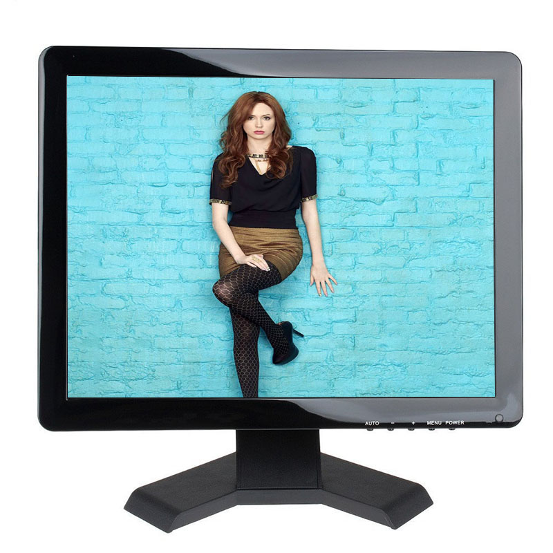 19 desktop led monitor 1280*1080 4 wire resistive touch screen monitor with AV/BNC/VGA/HDMI/USB interface автоподатчик kyocera dp 480 для taskalfa 1800 2200 1801 2201 1203p76nl0