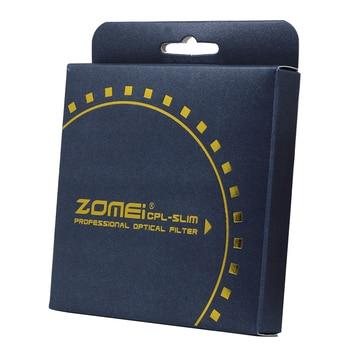 Filtre Polarisant Canon   ZOMEI 72mm DW1 Large Bande PRO C-PL Polariseur Circulaire Mince CPL Filtre Polarisant Pour Canon Nikon Tamron Sony Sigma Objectifs