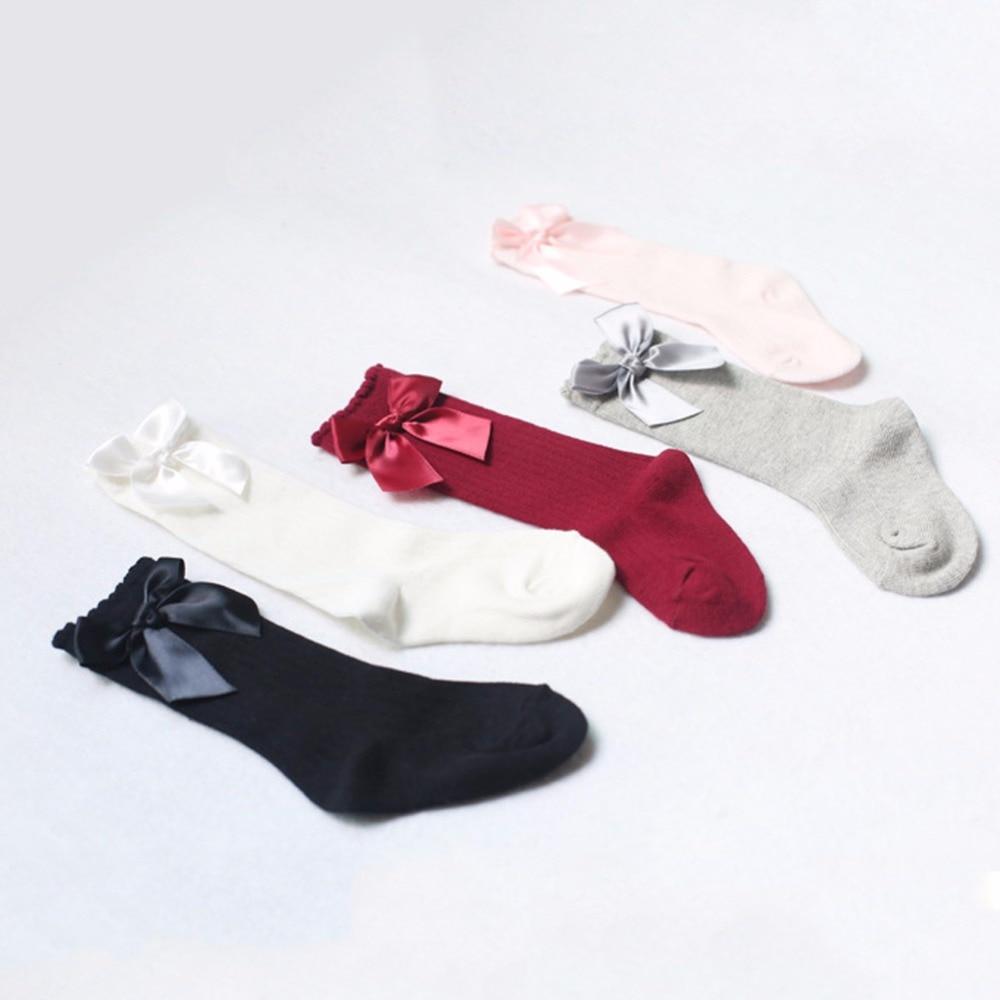Baby-Girls-Socks-Knee-High-with-Bows-Princess-Socks-Cute-Baby-Sock-Long-Tube-Kids-Children-Bow-Kids-Girl-Socks-5