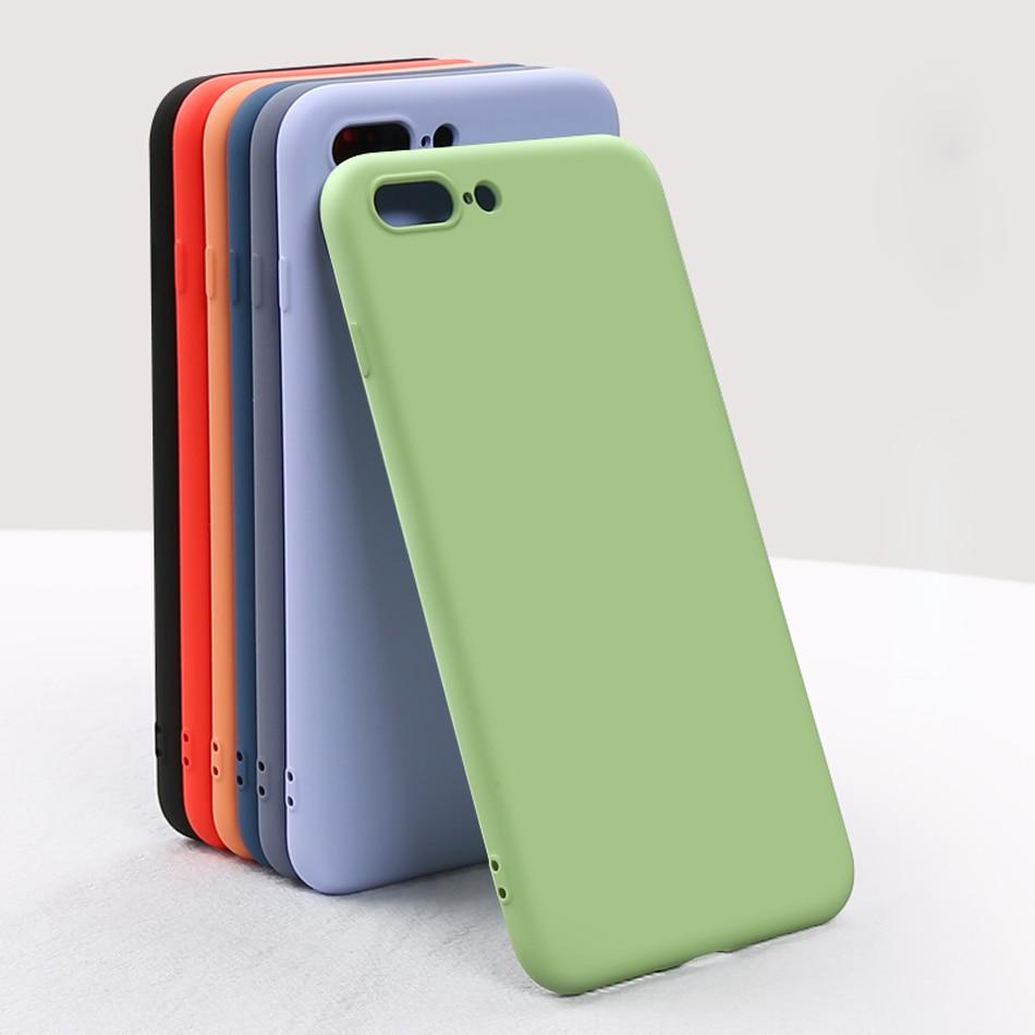 Tlumič pouzdra s měkkým rámečkem pro iphone 7 7plus pouzdro - Příslušenství a náhradní díly pro mobilní telefony