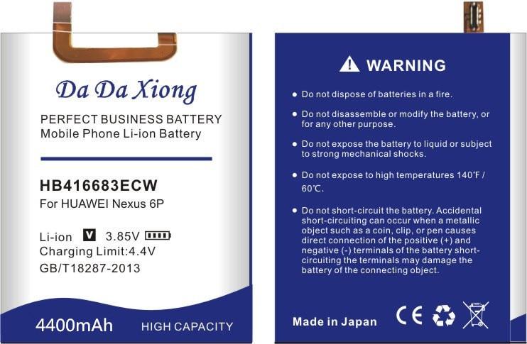 da da xiong 4000mah hb416683ecw battery for huawei google