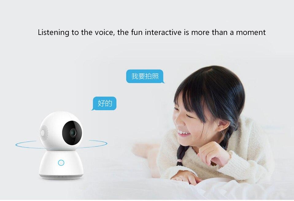 Xiaomi Mijia Smart 1080P WiFi IP Camera: Intercomunicador e interacción por voz