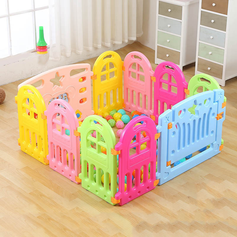 Fencing for Children Baby Playpen Fence Playpen Indoor Baby Fence ...