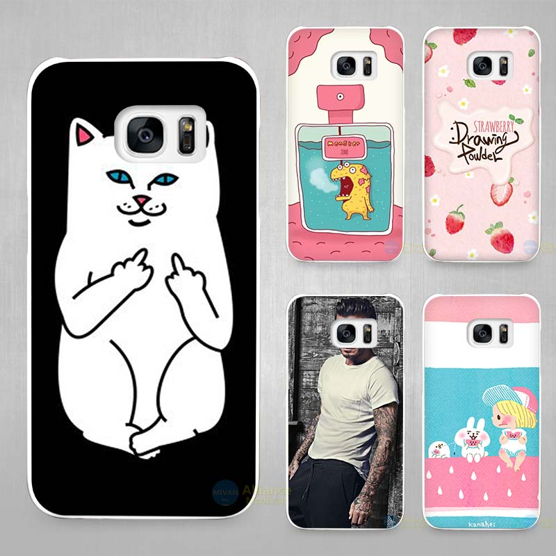 Trendy Girl Love Potion Chill Pills Ripndipp Rock Kitten Cat Hard White Coque Shell Case Cover Phone Cases for Samsung Galaxy S4