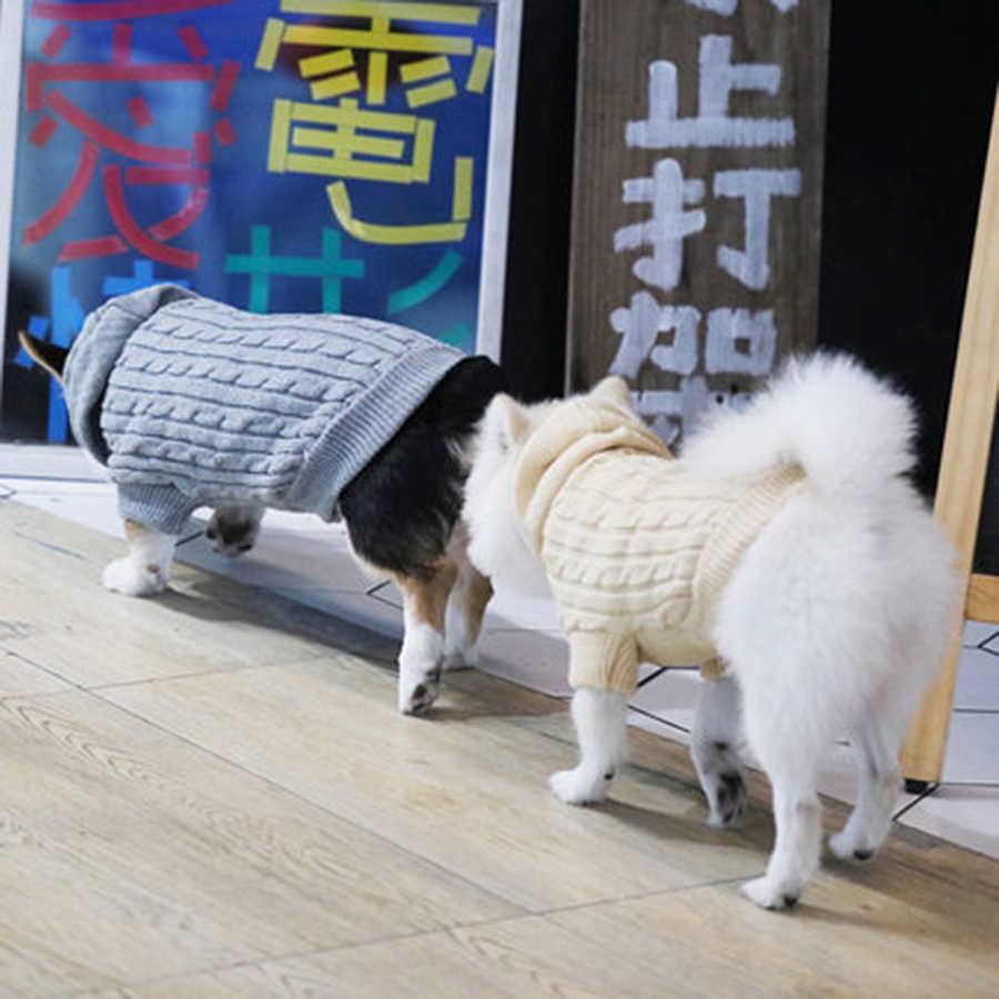 Свитеры для домашних животных, свитер для собак на осень и зиму, пальто для собак, одежда для собак, вязаный костюм для домашних животных, 5MY1