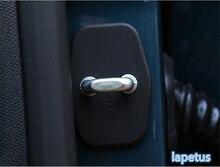 Per Peugeot 5008 2017 2018 Auto Serratura della Porta di Protezione Della Decorazione Della Copertura Della Pagina Trim 4 pezzi/set