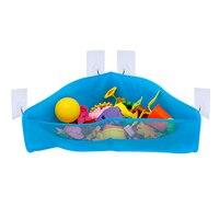2017浴室ぶら下げ子供風呂のおもちゃオーガナイザー防水吸引カップメッシュベビーシャワーのおもちゃホルダー収納袋